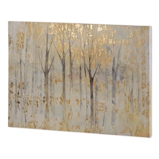 Mercana Seasons End Gold Dark (65 x 44 ) Made to Order Canvas Art