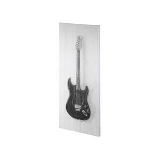 Mercana Guitar I (20 x 44) Made to Order Canvas Art