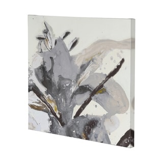 Mercana Blooming Opalescent II (41 x 41) Made to Order Canvas Art