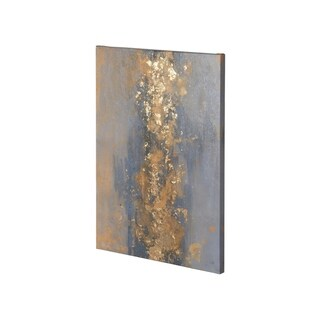 Mercana Concrete Gold 2 (26 x 38) Made to Order Canvas Art