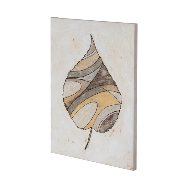 Mercana Leafy Patterns 1 (35 x 49) Made to Order Canvas Art