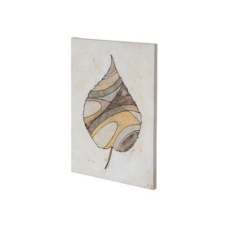 Mercana Leafy Patterns 1 (27 x 38) Made to Order Canvas Art