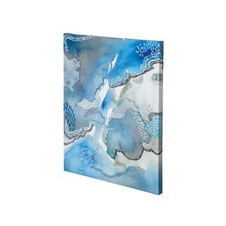 Mercana Subtle Blues I-2736 (27 x 36) Made to Order Canvas Art