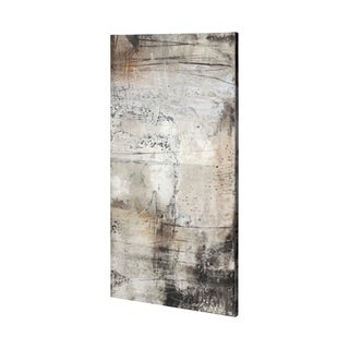 Mercana Blk Wht Bronze II (30 x 60) Made to Order Canvas Art