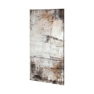 Mercana  Blk Wht Bronze I (30 x 60) Made to Order Canvas Art
