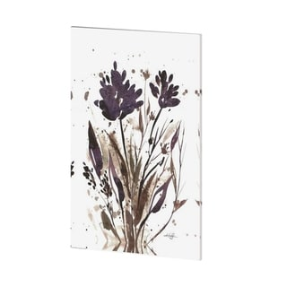 Mercana Floral Music II (36 x 54) Made to Order Canvas Art