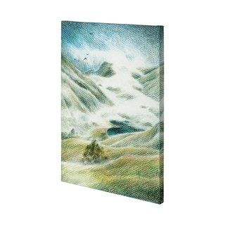Mercana Foggy Valley II (38 x 54) Made to Order Canvas Art