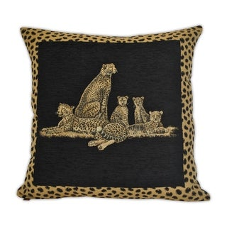Sherry Kline Cheetah Dynasty 24-inch Decorative Pillow