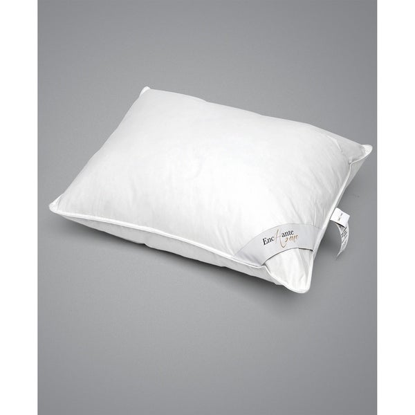 Enchante Home Luxury Goose Down Queen Pillow - Medium