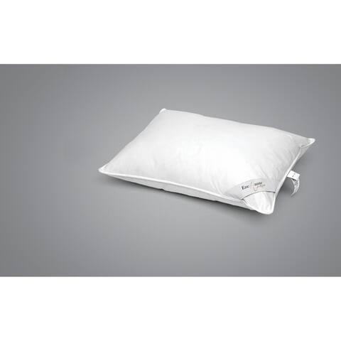 Enchante Home Luxury Goose Down Queen Pillow - Medium - White