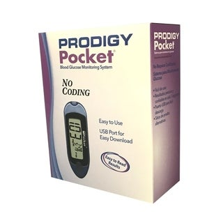 Prodigy Blood Glucose Pocket Meter - Color: Blue