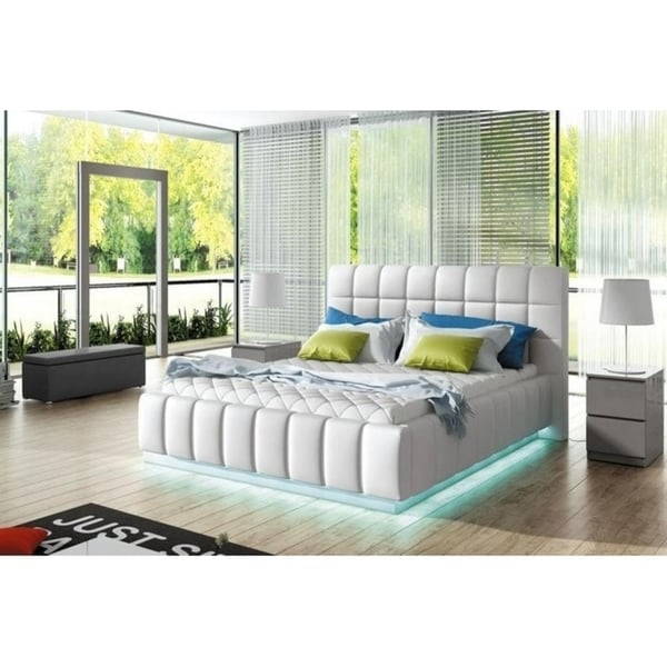 Prato Platform Bed European King Size With Mattress 180x200 Free Shipping Today 25776873