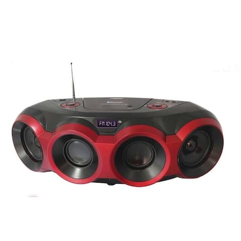 MP3/CD Boombox with Bluetooth®