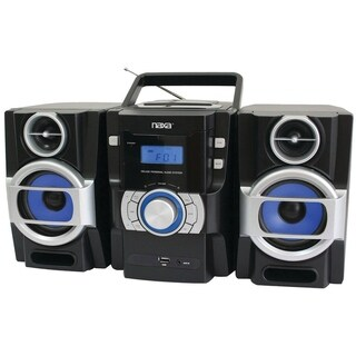 Portable MP3/CD Player with PLL FM Stereo Radio & USB Input