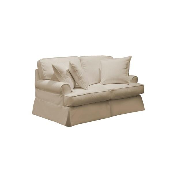 Shop Sunset Trading Horizon T Cushion Loveseat Slipcover