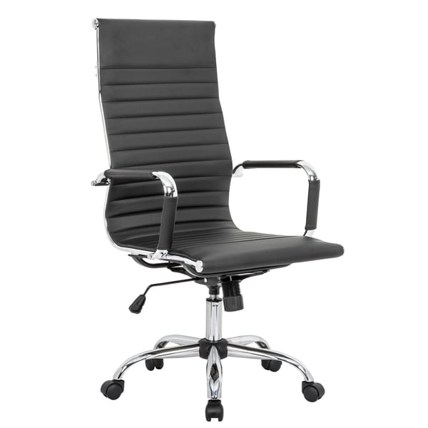 LeisureMod Harris High-Back Executive Leatherette Office Chair. Opens flyout.