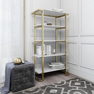 CosmoLiving Camila 5 Shelf Bookcase