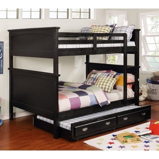Copper Grove Sibenik Transitional Full-Full Bunk Bed with Trundle