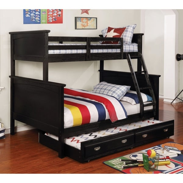 Taylor Olive Mcfarland 2 Piece Twin Over Full Bunk Bed With Trundle