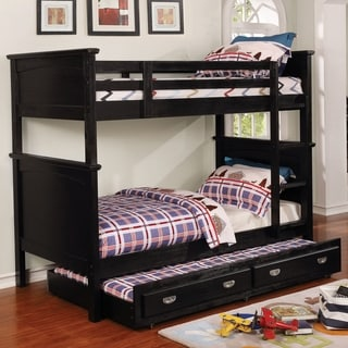 Taylor & Olive McFarland Cottage Twin over Twin Bunk Bed with Trundle