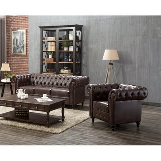 Teressa 2 Piece Living Room Set, Sofa, Chair