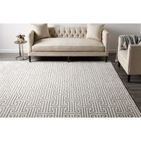 Cora, Hand Knotted Area Rug - Ivory