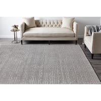 Cora, Hand Knotted Area Rug - Mist