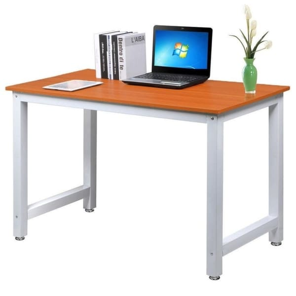 Wood Rectangle Workstation Pc Laptop Table Computer Desk Home Office Furniture by Generic