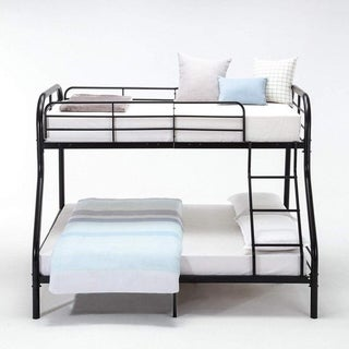 Bedroom 330lbs Kids Teens Adult Dorm Twin Over  Full Metal  Bunk Bed