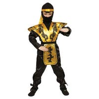 Deluxe Ninja Children's Costume Set