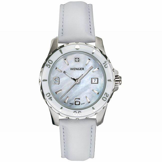 Wenger Women's Mother of Pearl Dial Sport Watch