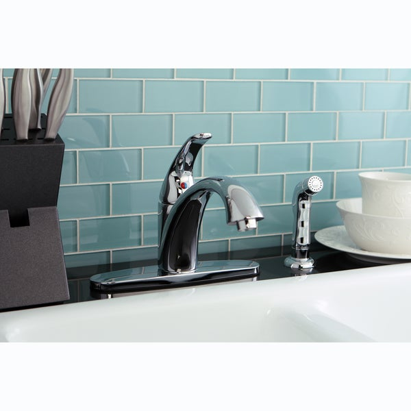 Vintage Chrome Kitchen Faucet