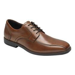 Men's Rockport Slayter Bike Toe Oxford Cognac Leather - Thumbnail 0