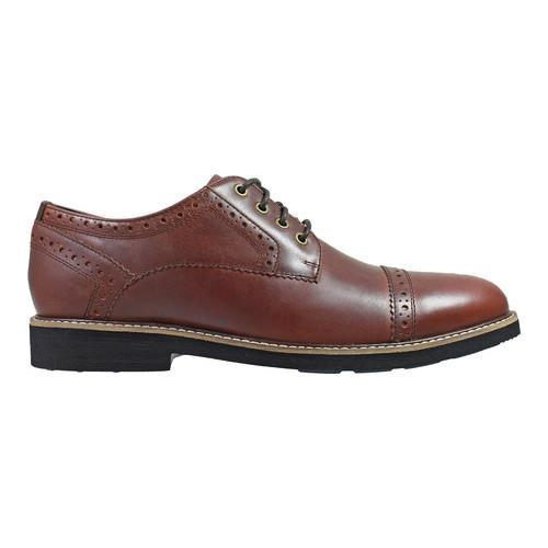 Men's Nunn Bush Overland Cap Toe Oxford Rust Leather