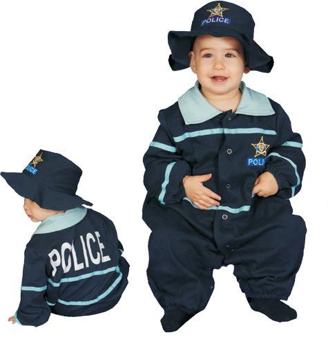 Police Officer Baby Costume
