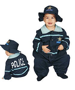 Police Officer Baby Costume (3 options available)