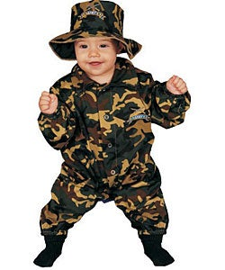Military Solider Officer Baby Costume