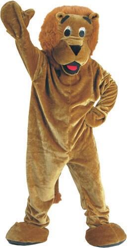 Roaring Lion Mascot Children's Costume