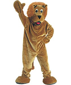 Roaring Lion Mascot Children's Costume