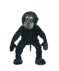 Scary Gorilla Mascot Adult Costume