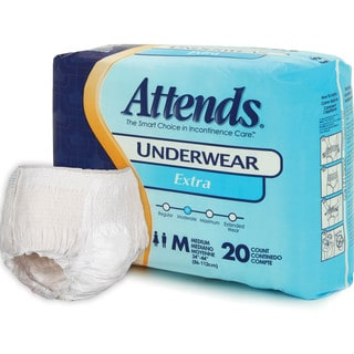 Attends Extra Medium Underwear (Case of 80)