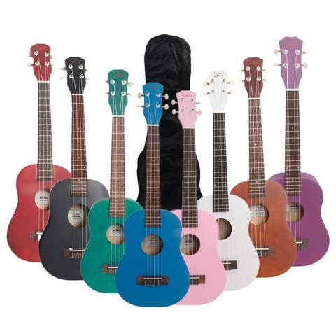 "Glarry UK103 26"" 8 Colors Rosewood Fingerboard Basswood Tenor Ukulele"