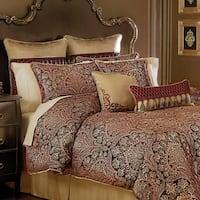Croscill Roena Jacquard 4 Piece Comforter Set
