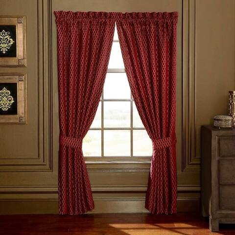 Croscill Roena Chenille Panel Pair Curtain
