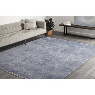Anna, Hand Knotted Area Rug - Dove