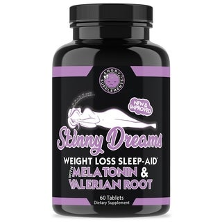 Angry Supplements Skinny Dreams Weight Loss Sleep Aid (60 Count)