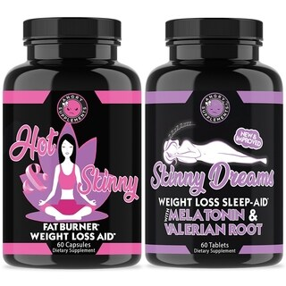 Angry Supplements Hot & Skinny and Skinny Dreams (120 Count)