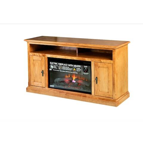 Mission Alder Fireplace 60W X 30H X 18D