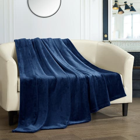 Chic Home Keaton Throw Blanket Cozy Ultra Plush Micro Mink Fleece