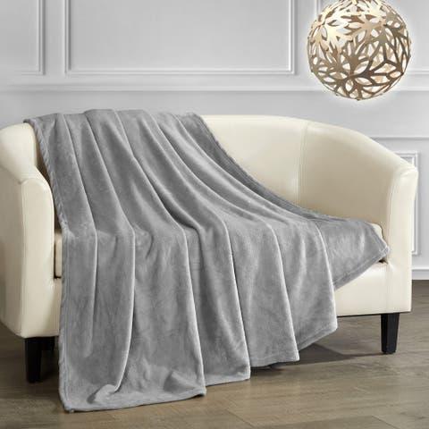 Chic Home Keaton Throw Blanket Cozy Ultra Plush Micro Mink Fleece